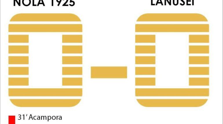 Serie D - Nola-Lanusei: 0-0. Stoici i ragazzi di mister Campana, strappano un punto in 9