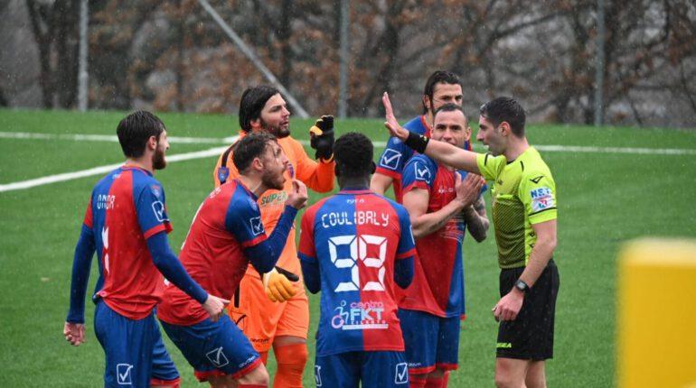 Serie D, Rotonda-Gelbison: 1-0. I rossoblù cadono in terra lucana
